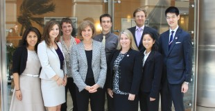 Members of the National Young Professionals Council with Gail McGovern, CEO, President of the American Red Cross