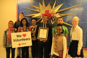 red cross hero award