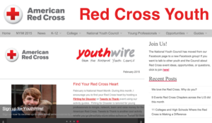 Make sure to keep updated with our most recent news, and sign up for our monthly newsletter, Youthwire.