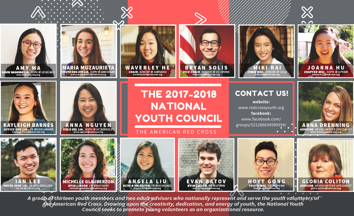 American red cross youth meet your 2017 2018 national youth council members 1betcityfo Gallery