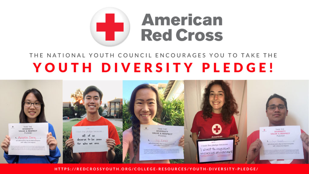 Youth Diversity Pledge American Red Cross Youth